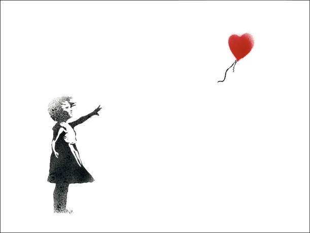 Balloon Girl - Banksy
